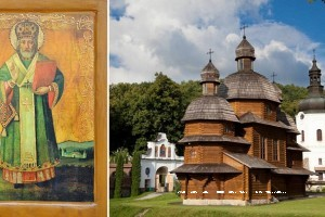 Чудотворний образ св. Миколая Мирликійського