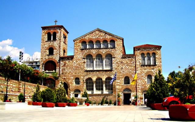 базиліка св Дмитрія Солунського Греція